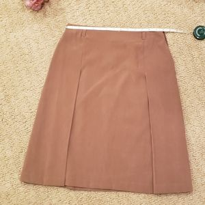 Casual Corner Women Brown Casual Skirt 4. Excellen